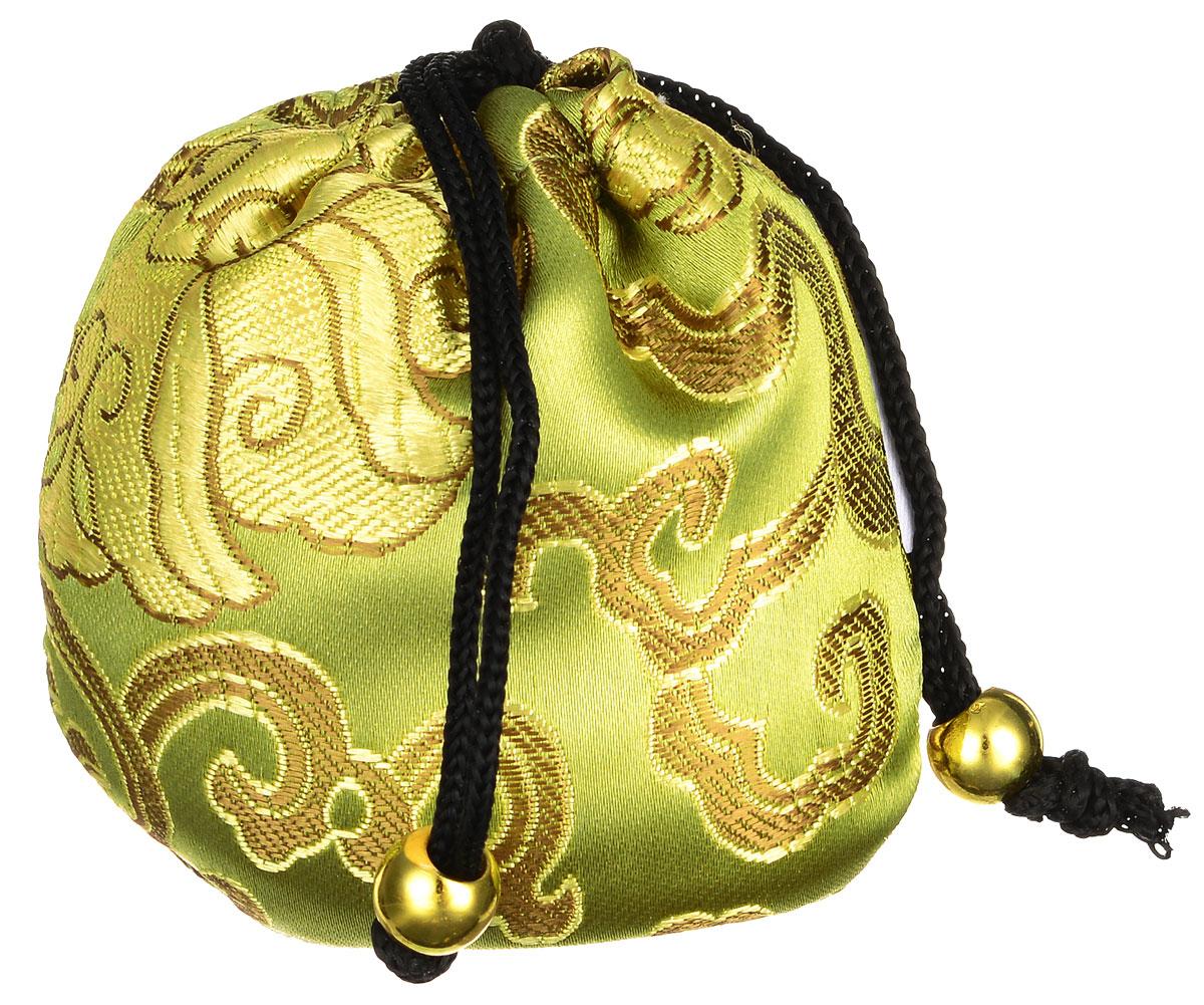 Masura Шелковый мешочек Ацуи для горячего и холодного массажа, цвет: светло-оливковый804-4Шелковый мешочек Masura Ацуи применяется для холодного и горячего массажа рук и ароматерапии при проведении процедуры Японский маникюр. Изделие, оформленное оригинальной вышивкой, затягивается на кулиску с декоративными бусинами. Наполнен мешочек морской солью, сухоцветами и аромамаслами. Материал мешочка: текстиль, пластик. Размер наполненного мешочка: 6,5 см х 6,5 см х 5 см. Товар сертифицирован.