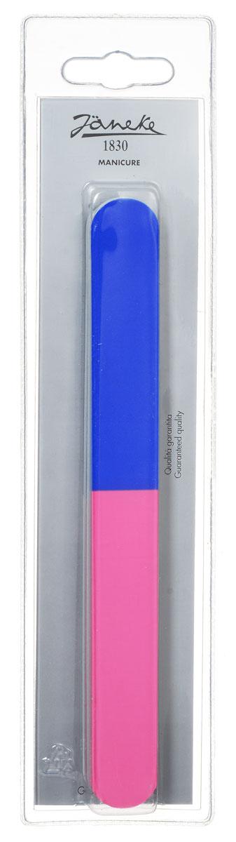 Janeke Пилка для ногтей, цвет: синий, розовый, 2 шт. MP134548494Маникюрная пилка для ногтей от Janeke изготовлена из стали Solingen, для придания формы и выравнивания ногтей. Высококачественное покрытие пилки обеспечивает идеальную обработку ногтя и долгий срок службы. Товар сертифицирован.