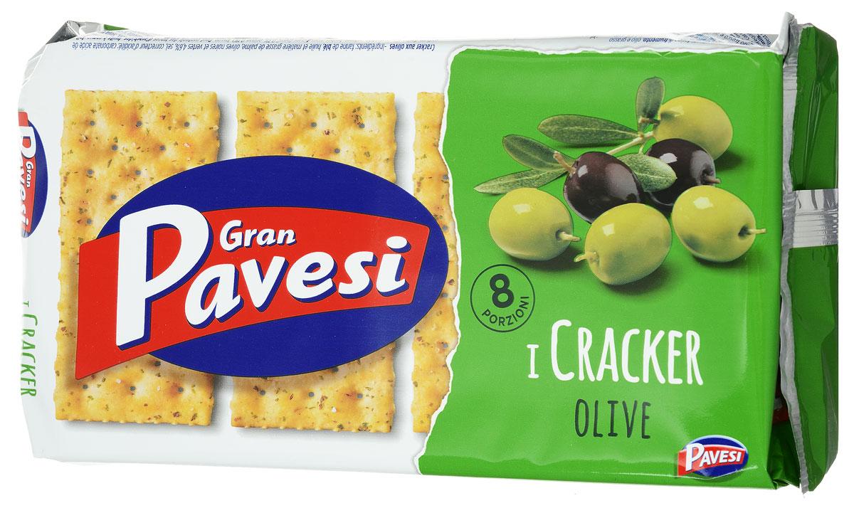 Gran Pavesi Cracker Olive крекер с оливками, 250 г