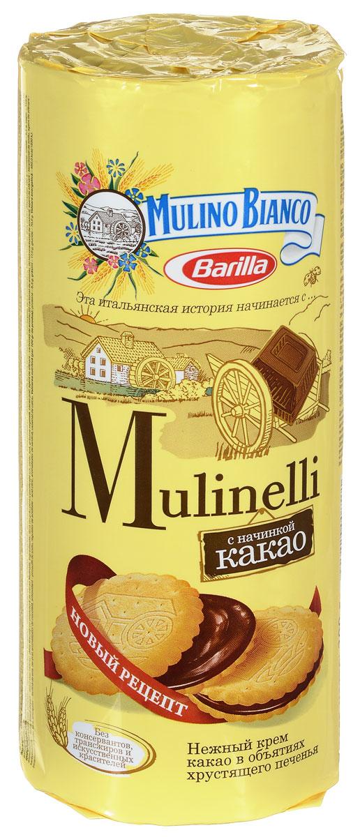 Mulino Bianco Mulinelli печенье с какао, 300 г 4605829008501