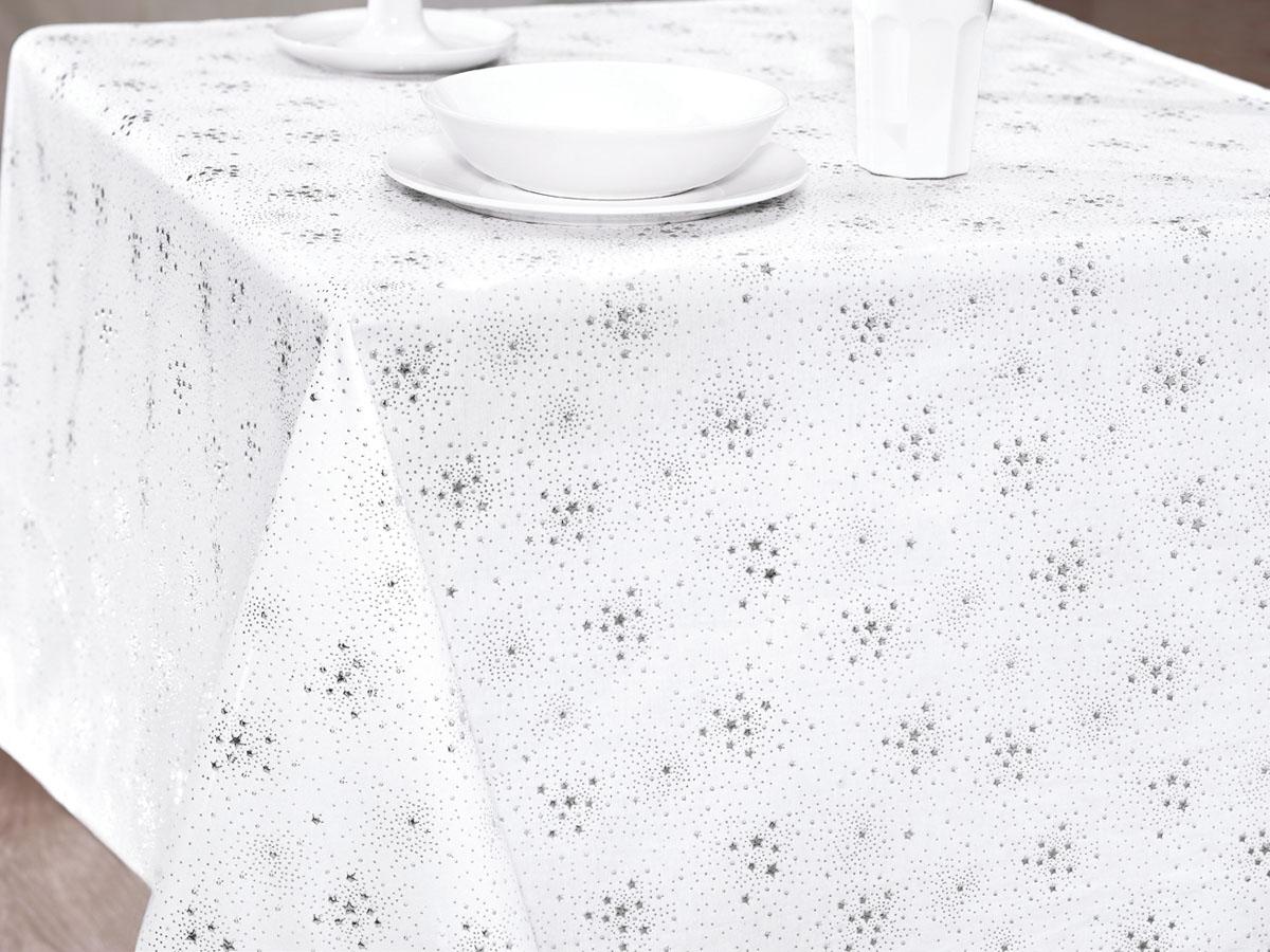 Скатерть Issimo Home Sansa, квадратная, 150 x 150 см4945Скатерти ISSIMO - это настоящий шедевр текстильной индустрии! Мягкие, переливающиеся оттенки, разнообразные варианты жаккарда, невероятно износоустойчивые и легкие в уходе ткани - все это позволит скатертям стать Вашим незаменимым помощником на кухне! Они не только украсят любую кухню или гостиную, но и станут прекрасным подарком на любые случаи жизни!
