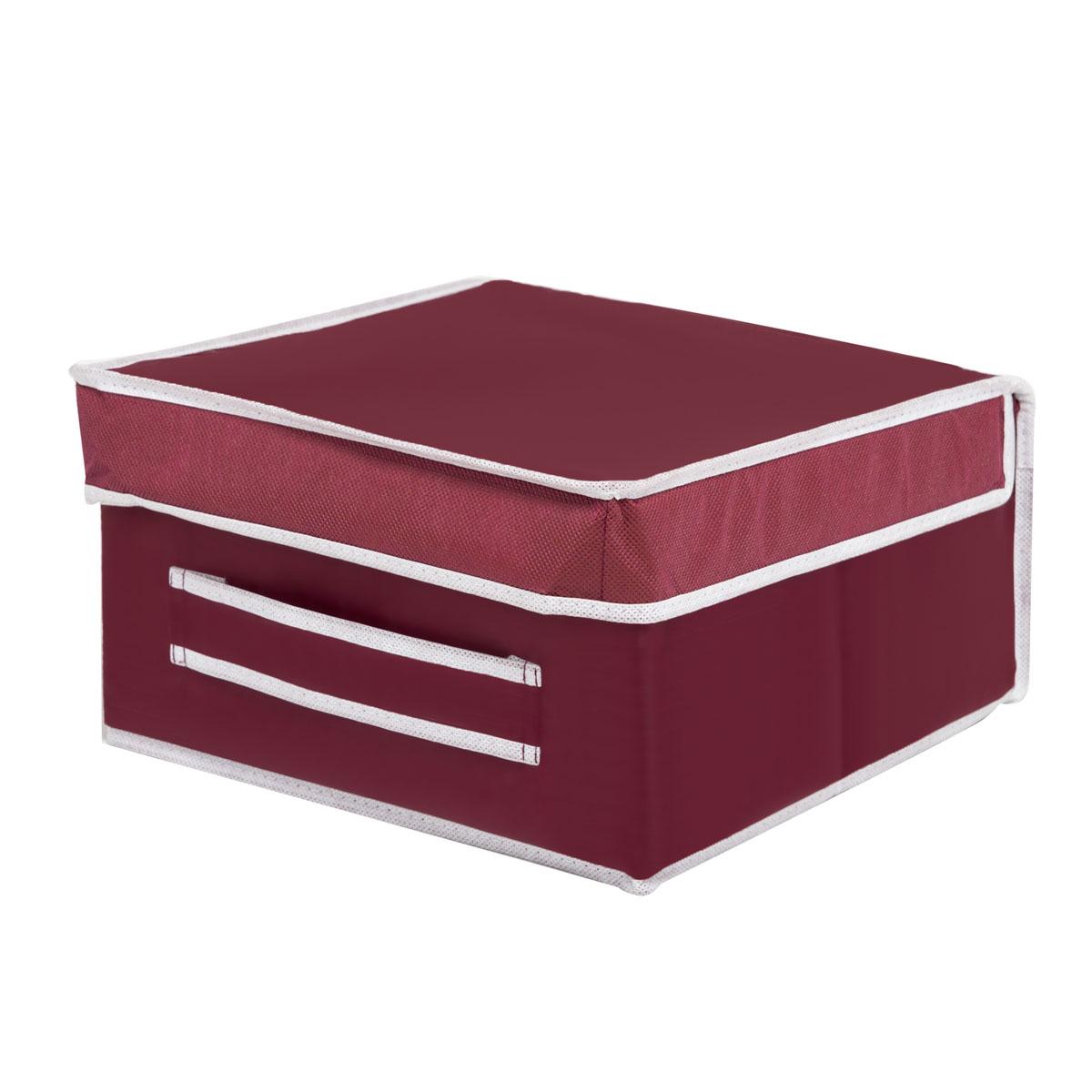 Коробка для хранения Homsu Red Rose, 30 х 30 х 16 смHOM-11Вместительная коробка для хранения Homsu Red Rose выполнена из плотного картона. Изделие обладает удобным размером и привлекательным дизайном, выполненным в приятной цветовой гамме. Внутри коробки можно хранить фотографии, ткани, принадлежности для хобби, памятные сувениры и многое другое. Крышка изделия удобно открывается и закрывается. Коробка для хранения Homsu Red Rose станет незаменимой помощницей в путешествиях.
