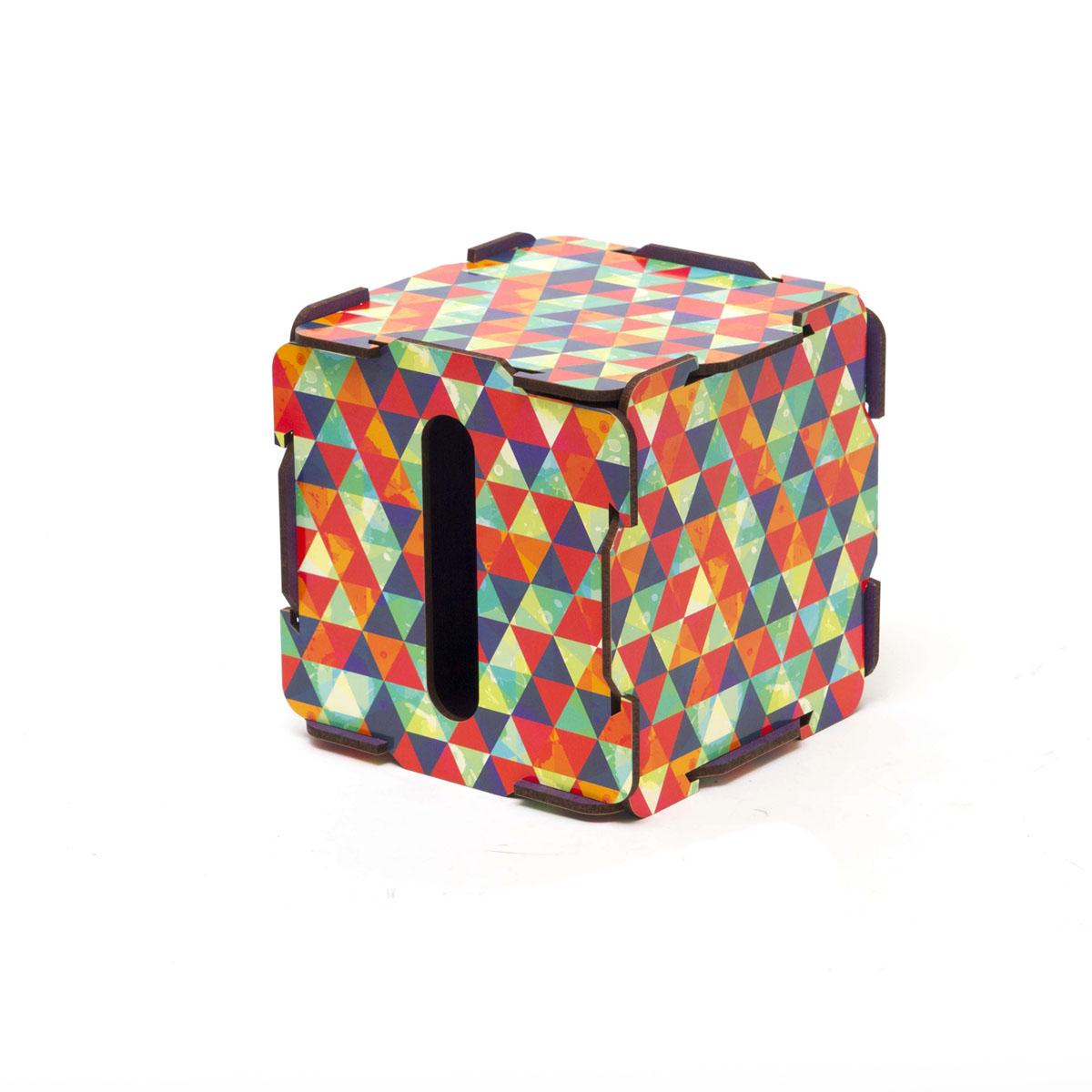 Органайзер настольный Homsu Треугольник, 13,5 x 13,5 x 13,5 смHOM-84Органайзер настольный Homsu Треугольник выполнен из МДФ. Настольный органайзер в прямоугольной форме - это способ хранения салфеток, но и других принадлежностей. Яркий дизайн поднимает настроение и радует своими необычными оттенками.