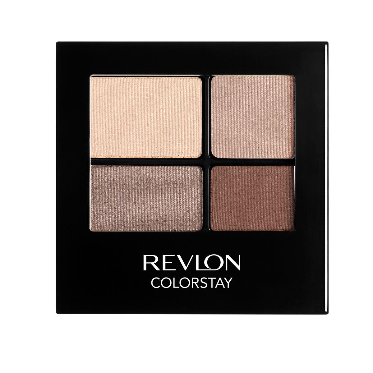 Revlon Тени для Век Четырехцветные Colorstay Eye16 Hour Eye Shadow Quad Addictive 500 42 г1301210Colorstay 16 Hour Sahdow - роскошные тени для век с шелковистой текстурой и невероятно стойкой формулой. Теперь ваш макияж сохранит свой безупречный вид не менее 16 часов! Все оттенки гармонично сочетаются друг с другом и легко смешиваются, позволяя создать бесконечное количество вариантов макияжа глаз: от нежных, естественных, едва заметных, до ярких, выразительных, драматических. На оборотной стороне продукта приведена схема нанесения.Аккуратно нанести на веки специальной кисточкой.
