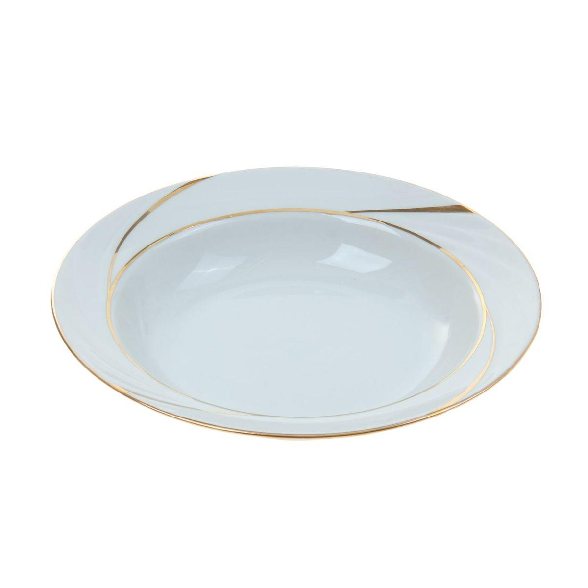 Тарелка глубокая Голубка. Бомонд, диаметр 22 см1035421Глубокая тарелка Голубка. Бомонд выполнена из высококачественного фарфора. Она прекрасно впишется в интерьер вашей кухни и станет достойным дополнением к кухонному инвентарю. Тарелка Голубка. Бомонд подчеркнет прекрасный вкус хозяйки и станет отличным подарком.