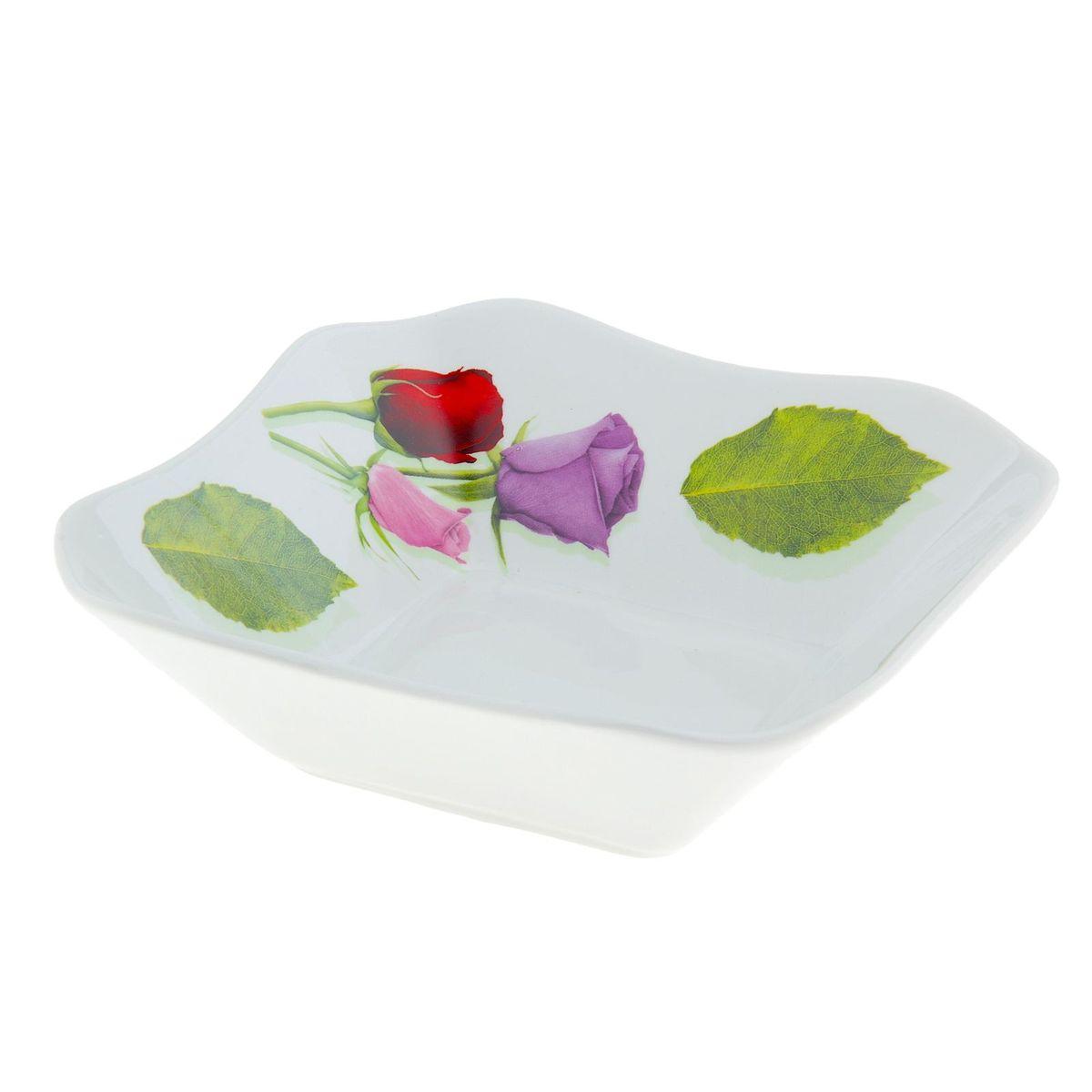 Салатник Королева цветов, квадратный, 720 мл507853