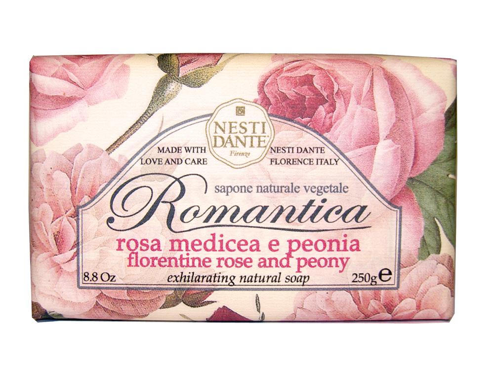 Мыло Nesti Dante Romantica. Флорентийская роза и пион, 250 г1312106Натуральное мыло премиум-класса Nesti Dante Romantica. Флорентийская роза и пион - два букета, бережно отобранные самые романтичные и эмоциональные ароматы, самые незабываемые моменты нашей жизни в магии цветов провинции Тоскана. Мыло с нежным ароматом розы и пиона, бережно очищает самую чувствительную кожу. Изысканная флорентийская бумага, в которую завернуто мыло, расписана акварелью, на каждом кусочке мыла выгравирована надпись With Love And Care (С любовю и заботой). Характеристики: Вес: 250 г. Производитель: Италия. Товар сертифицирован. Nesti Dante - одна из немногих итальянских мыловаренных фабрик, которая продолжает использовать в производстве только натуральные ингредиенты и кустарный способ производства. Тщательный выбор каждого ингредиента в отдельности позволяет использовать ценное сырье, такое как цельные нейтральные растительные и животные жиры и эти качественные материалы позволяют получать...