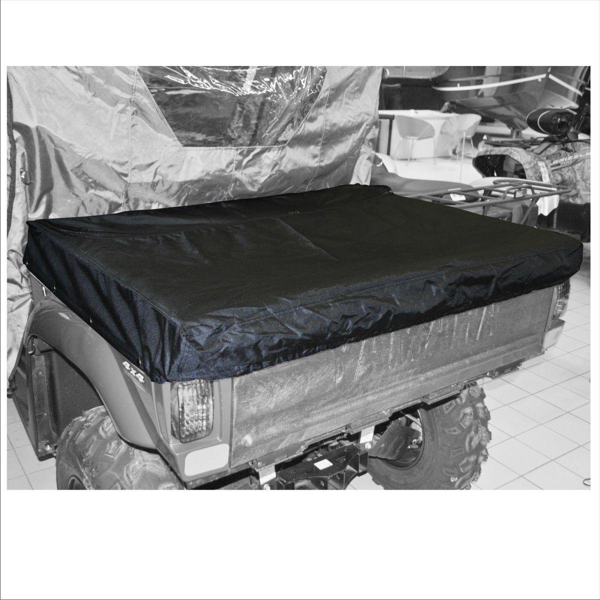 Тент на кузов AG-brand UTV Yamaha Rhino 700, цвет: черныйAG-YAM-UTV-Rh700-CBЧехол на кузов призван защищать кладь в кузове от снега, града, дождя, дорожной пыли, веток и листвы во время заездов на мотовездеходе. Система креплений (кнопки) позволяет надежно установить чехол на кузов мотовездехода. Дополнительная молния позволяет получить частичный доступ в кузов не смимая всего чехла.