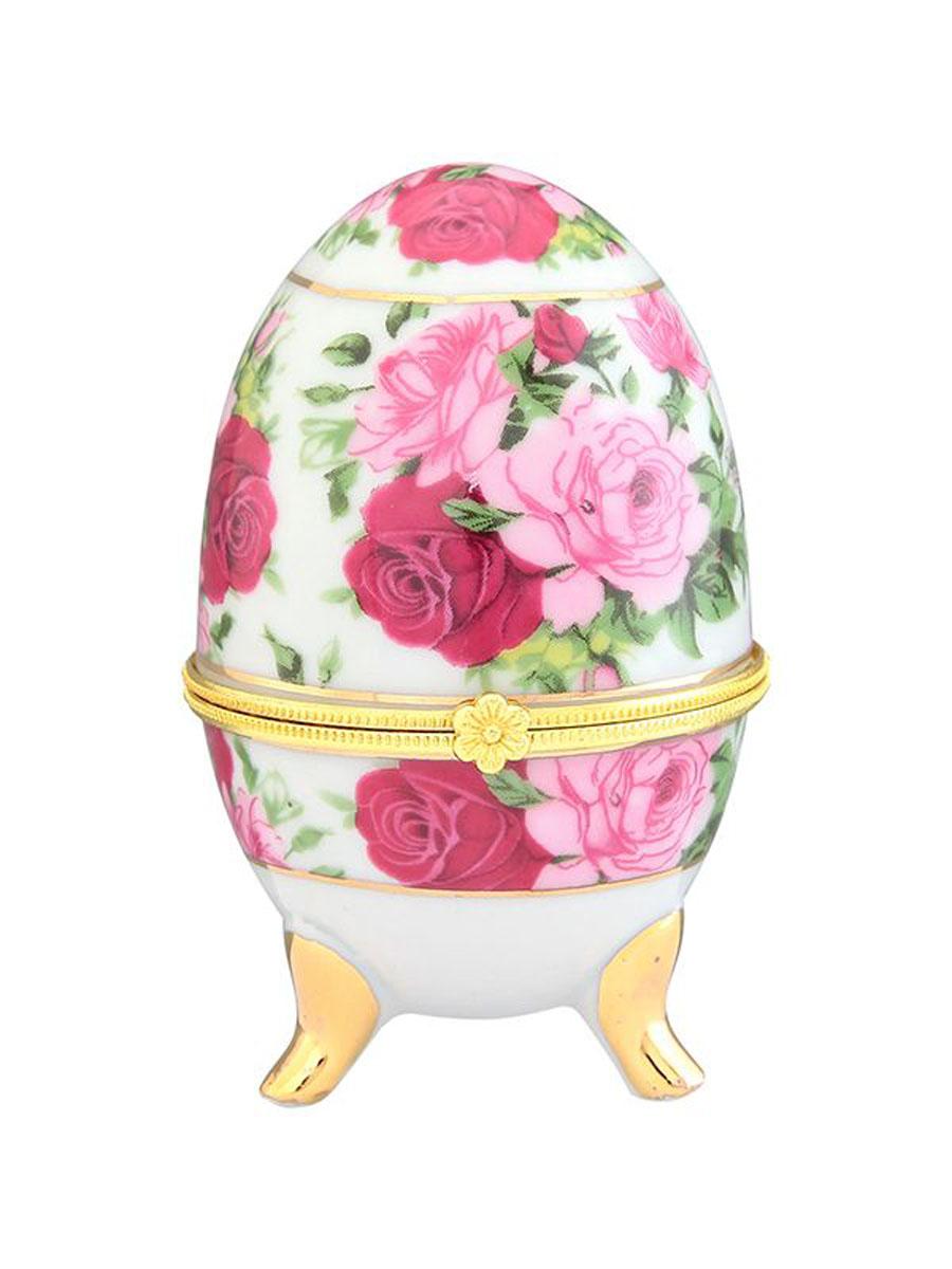Шкатулка Elan Gallery Розовый букет, высота 10 см503890Замечательный сувенир и подарок. Идеально подходит для хранения мелких украшений. Прекрасные шкатулки Elan Gallery являются хорошим решением для вашего гардероба. Данная вещь будет хорошей покупкой или подарком другу. Размер шкатулки: 6 х 6 х 10 см.