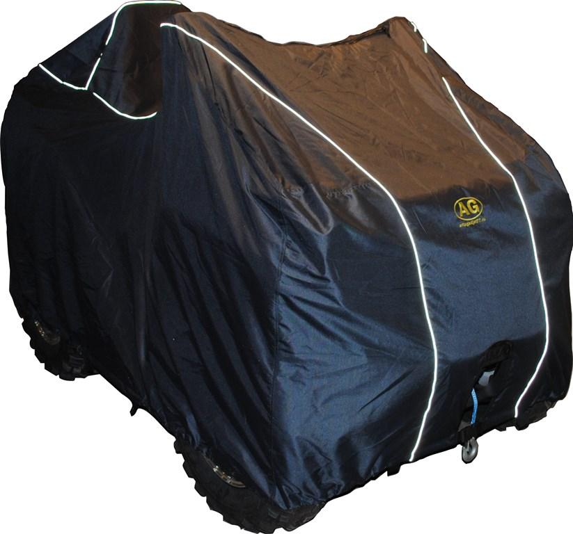 Чехол транспортировочный AG-brand для ATV Polaris Sportsman (к.база), цвет: черныйAG-POL-ATV-Sportsman-TCТранспортировка и хранение квадроцикла. Изготовлен из высокопрочной плотной тентовой ткани Оксфорд 600ПУ с высоким показателем водоупорности.