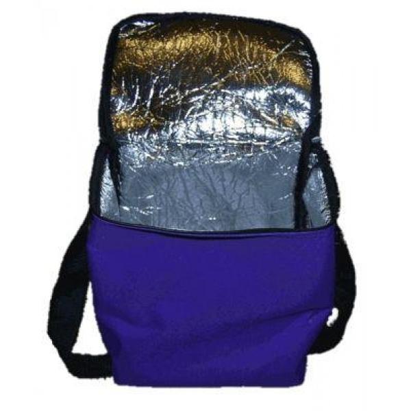 Изотермическая сумка Z-Sports, цвет: синий, 28 лВ8134Основные характеристики Тип: изотермическая Вместительность: 28л Материалы: поливинилхлорид, нетканное полотно, фольга Размер по внутренним стенкам: 34х18х36см Размер по внешним стенкам: 35х19,5х37см Вес: 0,97кг Цвет - синий Вид использования: хранение продуктов питания во время пребывания на природе Страна-производитель: Китай Упаковка: полиэтиленовый пакет со стикером Сумка холодильник - это великолепное средство хранения скоропортящихся продуктов. Изотермическая сумка, с применением аккумуляторов холода, сохраняет продукты в замороженном виде в течении 10-12 часов. Преимущества сумки B8134: - удобный вместительный литраж; - изготовлена из прочного материала; - внутри фольгированный термоизоляционный слой; - ручки для удобства переноски; - откидная крышка на молнии.