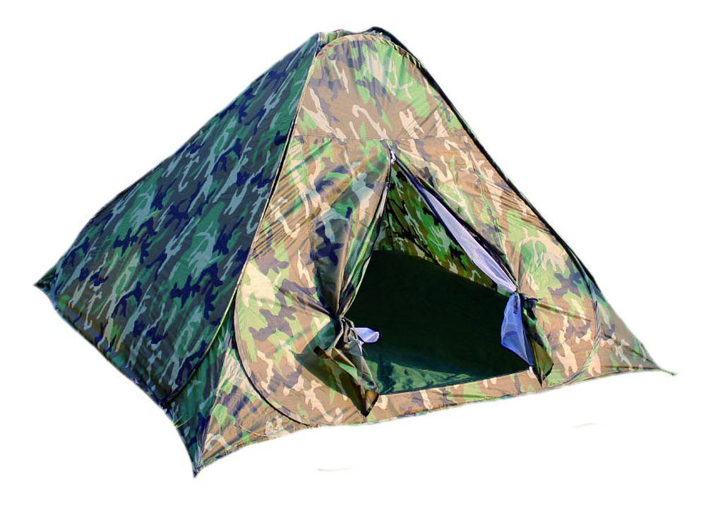 Палатка 2-местная Reka, самораскладывающаяся, цвет: хаки