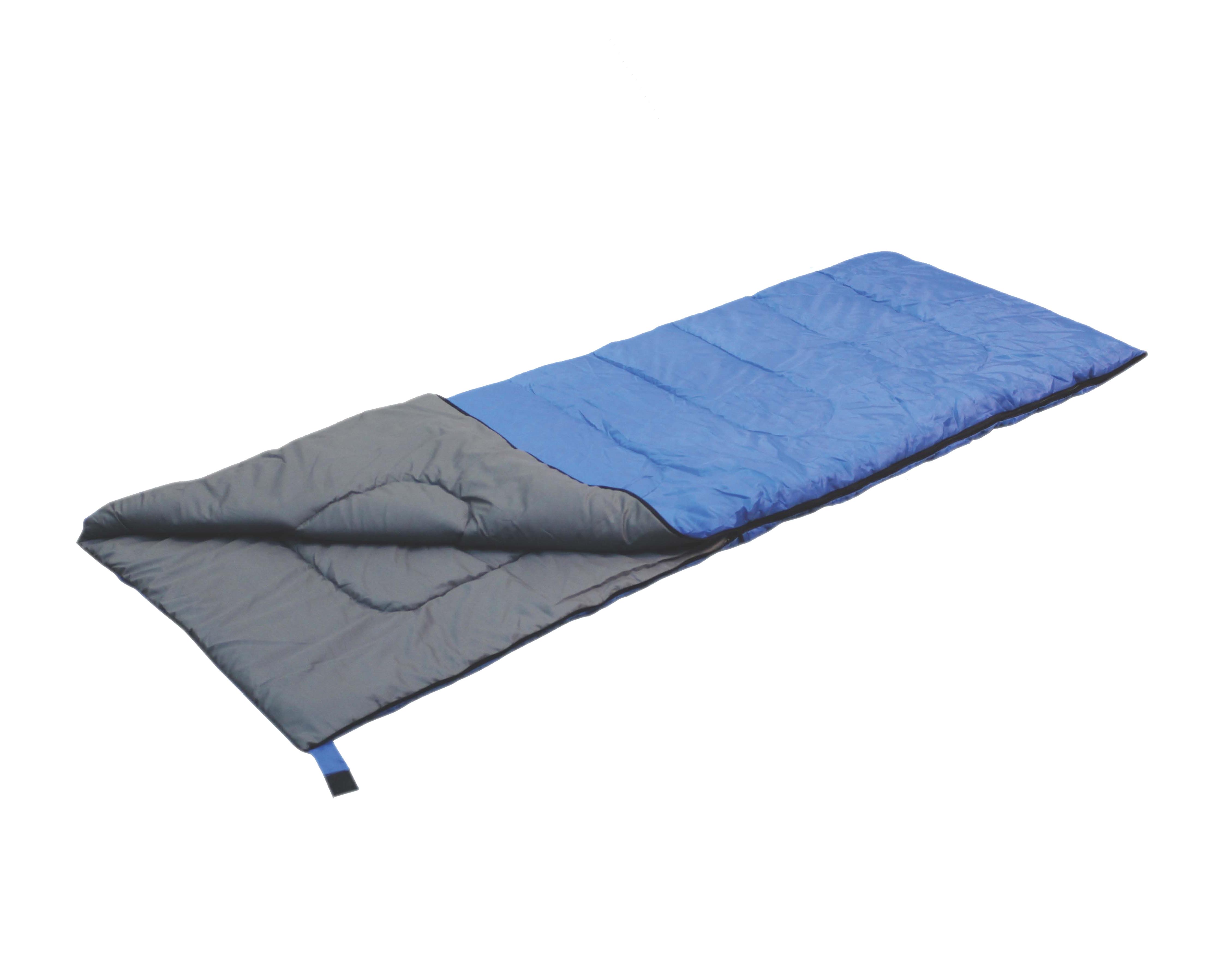 Спальный мешок-одеяло Reka, цвет: синий, черный, правосторонняя молнияSB-095Основные характеристики: Тип: одеяло Размер: 200х75 см Материал наружный: 190T полиэстер с PA покрытием Материал внутренний: полиэстер, хлопок. Наполнитель: 200гр./м2 холофайбер Температурный режим: до +10 Вес: 1 кг Страна-производитель: Китай Упаковка: чехол, пакет Практичная модель для летнего сезона в туризме и активного отдыха на природе. Комплектуется компактным чехлом.