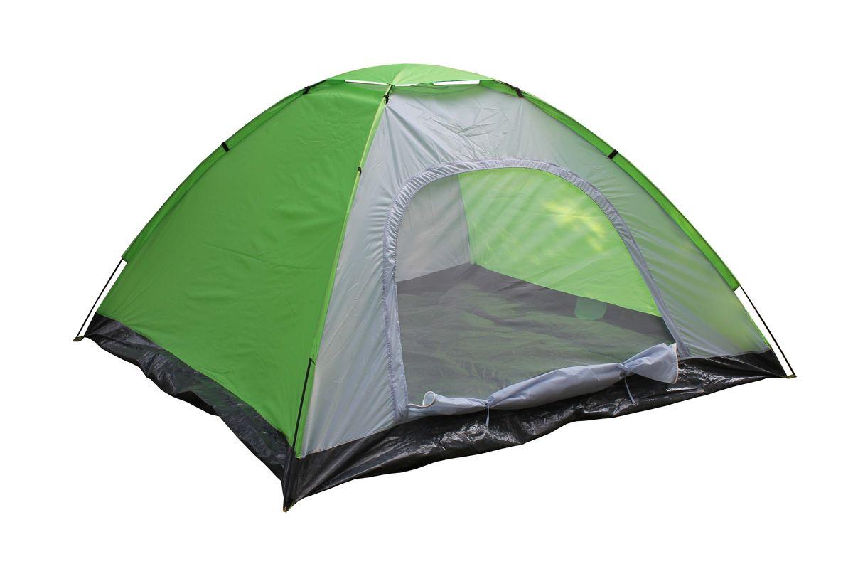 Палатка 5-местная Reka, цвет: зеленый, серый