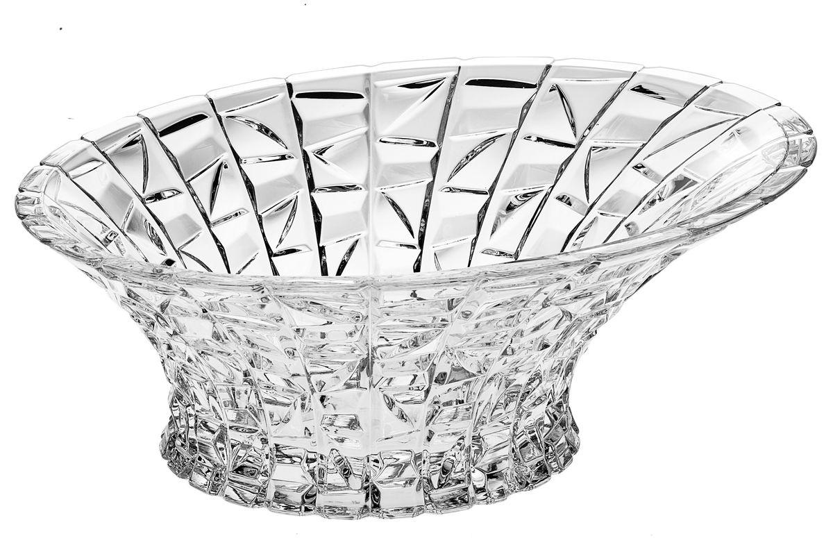 Салатник Crystal Bohemia, диаметр 33 см990/65803/0/47610/330-109Настоящий чешский хрусталь с содержанием оксида свинца 24%, что придает изделиям поразительную прозрачность и чистоту, невероятный блеск, присущий только ювелирным изделиям , особое, ни с чем не сравнимое светопреломление и игру всеми красками спектра как при естественном, так и при искуственном освещении. Продукция из Хрусталя соответствуют всем европейским и российским стандартам качества и безопасности. Традиции чешских мастеров передаются из поколения в поколение. А высокая художаственная ценность иделий признана искушенными ценителями во всем мире. Продукция из Хрусталя соответствуют всем европейским и российским стандартам качества и безопасности.