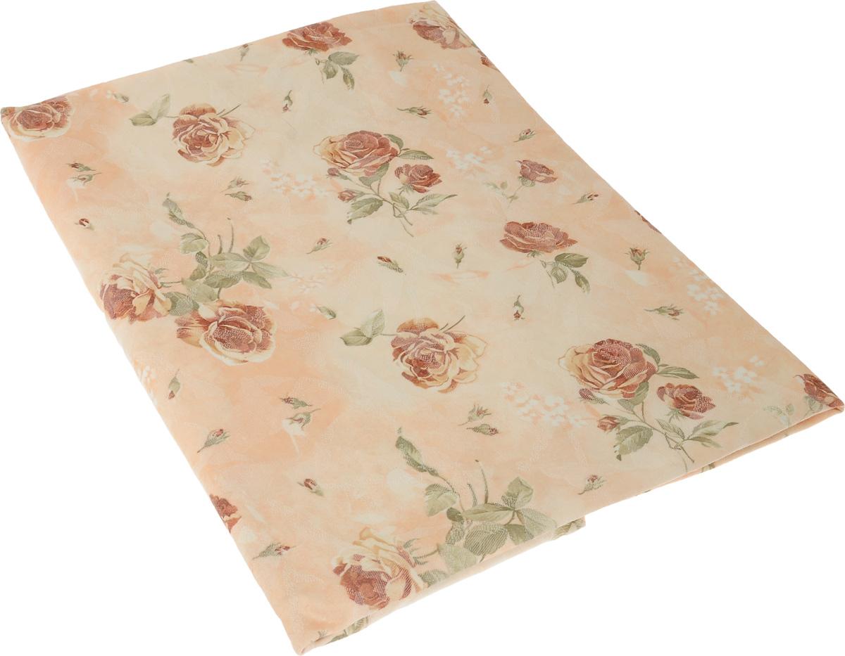 Скатерть Schaefer, круглая, цвет: бежевый, зеленый, красно-коричневый, диаметр 170 см. 07344-41407344-414_розы желтыеВеликолепная скатерть Schaefer, выполненная из полиэстера и хлопка, органично впишется в интерьер любого помещения, а оригинальный дизайн удовлетворит даже самый изысканный вкус. Красивый цветочный рисунок придает скатерти изысканный внешний вид. Это текстильное изделие станет удобным и оригинальным украшением вашего дома. Немецкая компания Schaefer создана в 1921 году. На протяжении всего времени существования она создает уникальные коллекции домашнего текстиля для гостиных, спален, кухонь и ванных комнат. Дизайнерские идеи немецких художников компании Schaefer воплощаются в текстильных изделиях, которые сделают ваш дом красивее и уютнее и не останутся незамеченными вашими гостями. Дарите себе и близким красоту каждый день! Изысканный текстиль от немецкой компании Schaefer - это красота, стиль и уют в вашем доме. Состав: 35% полиэстер, 65% хлопок. Диаметр: 170 см.