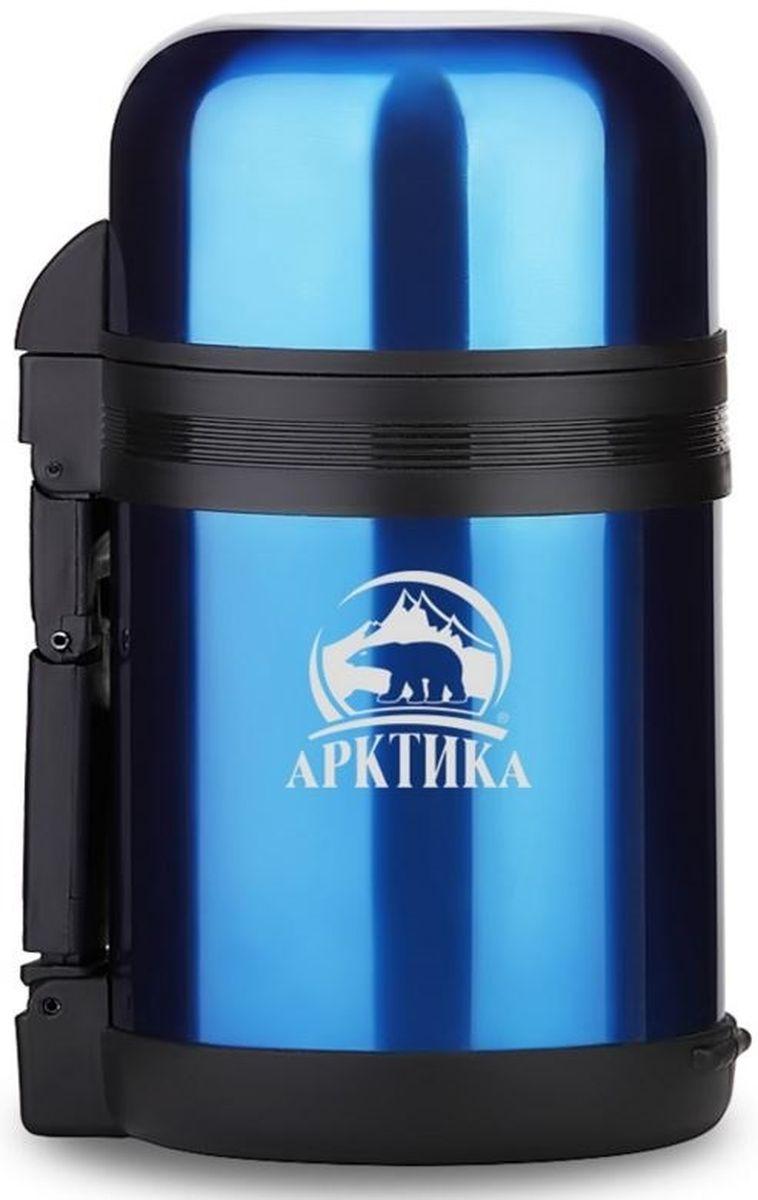 Термос Арктика, с чашкой, цвет: синий, 1,2 л202-1200 синийТермос Арктика с широким горлом сохранит вашу еду или напитки горячими в течение долгого времени. Корпус выполнен из высококачественной нержавеющей стали. Крышку можно использовать в качестве стакана, так же есть дополнительная чашка и удобный ремешок для переноски. Пробка термоса состоит из двух составных частей: узкая для напитков, широкая для еды. Он составит компанию за обеденным столом, улучшит настроение и поднимет аппетит, где бы этот стол не находился. Пусть даже в глухом отсыревшем лесу, где даже развести костер будет стоить немалого труда. Забудьте об этих неудобствах - вместительный и компактный термос Арктика с радостью послужит вам в качестве миниатюрной полевой кухни, поднимет настроение нарядным внешним видом и вкусной домашней едой. Диаметр горлышка для напитков: 4,2 см. Диаметр горлышка для еды: 7,5 см. Диаметр основания: 10,7 см. Высота (с учетом крышки): 27 см. Время сохранения температуры (холодной и горячей): 24 часа.