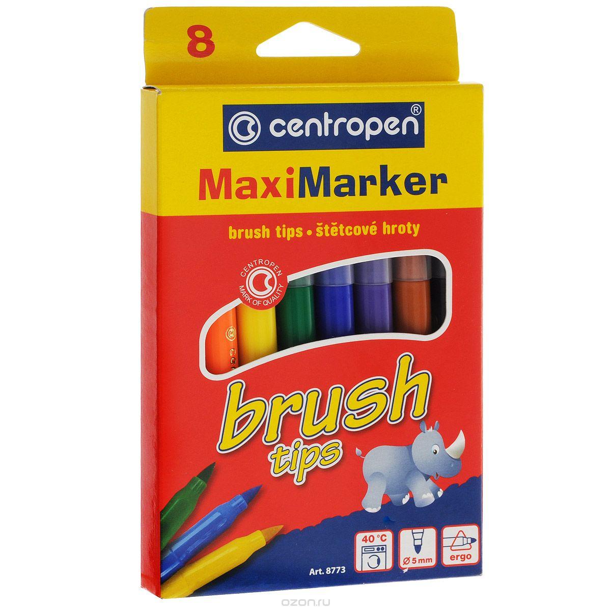 Набор смываемых маркеров Brush, 8 цветов610842Характеристики: Длина маркера: 14,5 см. Диаметр наконечника: 5 мм. Размер упаковки:11 см х 18 см х 1,3 см.