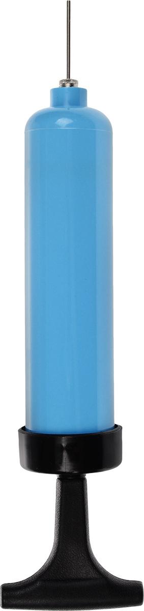 Насос для мячей, цвет: голубой, черный. 804B-10