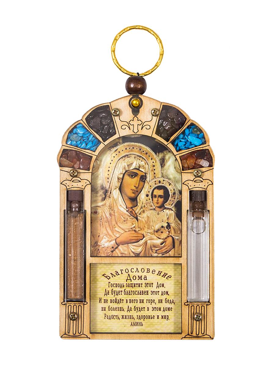 """Икона Holy Land Collections """"Благословение Дома Иерусалимской Божьей Матери"""", 70 x 110 мм HL-777A25"""