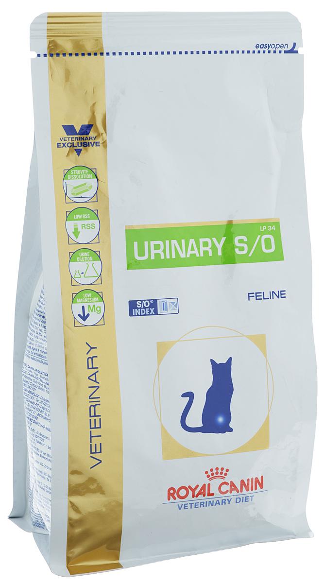 Корм сухой диетичесий Royal Canin Urinary S/O LP34 для кошек, при заболеваниях мочекаменной болезнью, 400 г21997Royal Canin Urinary S/O LP34 - полноценный диетический рацион для кошек, рекомендуемый при лечении и профилактике мочекаменной болезни. Корм способствует быстрому растворению струвитов и снижает риск их повторного образования. Диета для кошек при лечении и профилактике мочекаменной болезни. Показания: - растворение струвитов; - профилактика рецидивов уролитиаза, вызываемого струвитами и оксалатами кальция. Противопоказания: - беременность, лактация, рост; - хроническая почечная недостаточность; - метаболический ацидоз; - сердечная недостаточность; - гипертония; - применение лекарственных препаратов, которые используются для подкисления мочи. Состав: дегидратированные белки животного происхождения (птица), рис, злаки, изолят растительных белков, растительная клетчатка, гидролизат белков животного происхождения, минеральные вещества, свекольный жом, рыбий жир, дрожжи, соевое масло,...