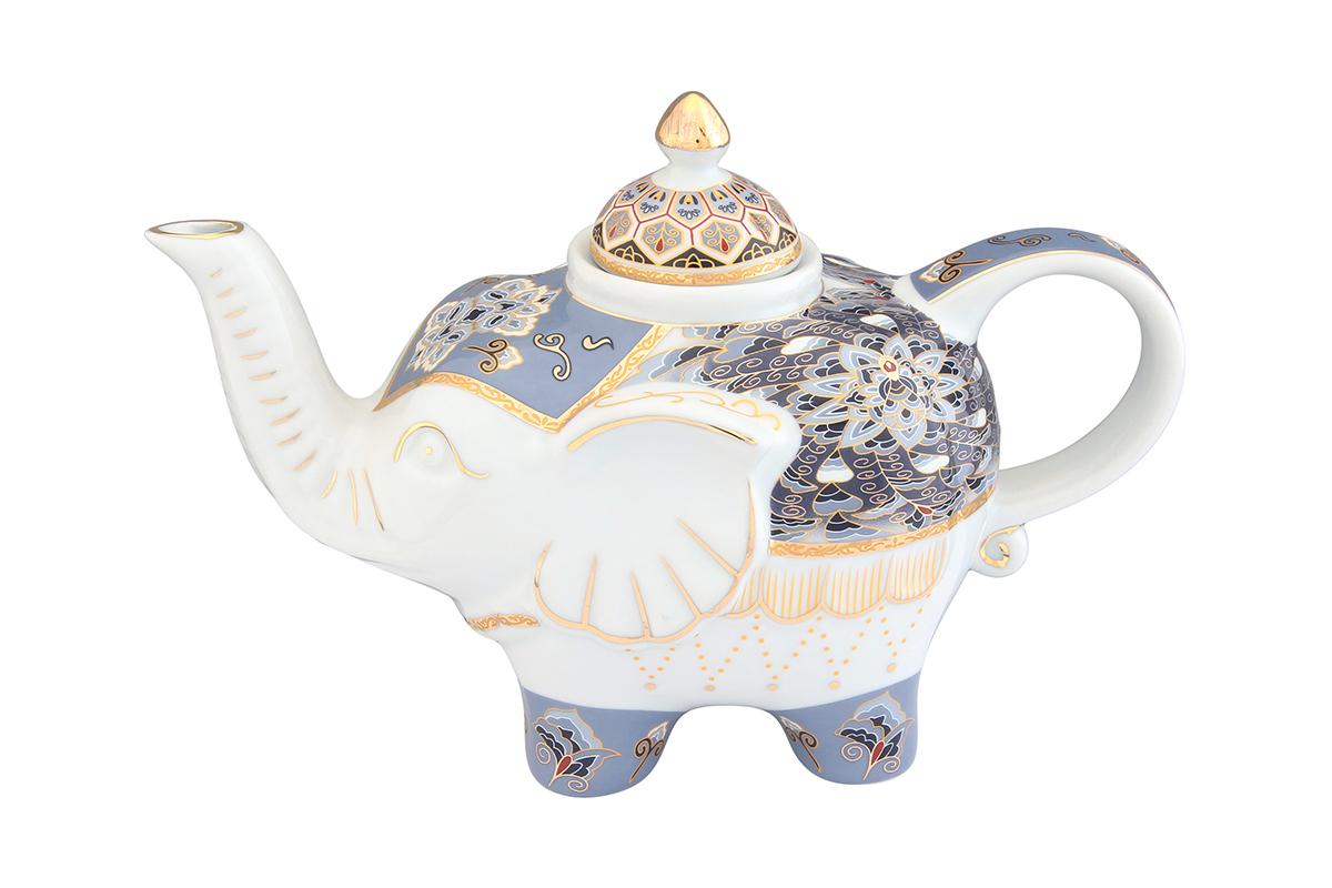 Чайник заварочный Elan Gallery Калейдоскоп, 750 мл504053Загадочная страна Индия: чай, слоны, солнце, праздник! Чайник, выполненный в форме слона, будет напоминать Вам об Индии и наполнит Ваш дом солнечным настроением. Изделие имеет подарочную упаковку, идеальный подарок для Ваших близких! Объем чайника: 750 мл. Размер чайника: 23 х 11 х 15 см.