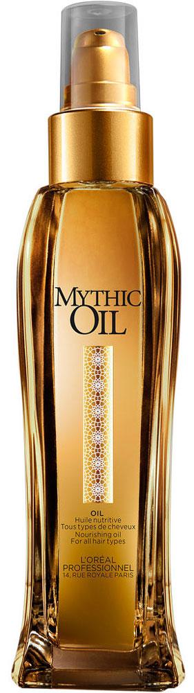 LOreal Professionnel Mythic Oil- Питательное масло для всех типов волос 100 млE0698741Питательное масло Mythic Oil, основанное на маслах авокадо и виноградных косточек, обладает мягкой консистенцией и ухаживающими свойствами, а также имеет несколько функций для применения.
