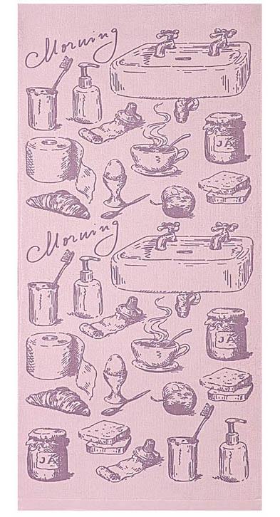 Полотенце кухонное Soavita Kitchen Mix Morning, цвет: лиловый, 34 х 76 см531-401Кухонное полотенце Soavita Kitchen Mix Morning, выполненное из высококачественной микрофибры (полиэстер), оформлено оригинальным рисунком. Микрофибра - материал высочайшего качества, изготовленный из сложных микроволокон, по ощущениям напоминает велюр и передающий уникальное и невероятное чувство мягкости. Ткань из микрофибры дышащая, устойчива к загрязнениям и пятнам, сохраняет свой высококачественный внешний вид и уникальную мягкость в течении всего срока службы. Изделие предназначено для использования на кухне и в столовой.Такое полотенце станет отличным вариантом для практичной и современной хозяйки.