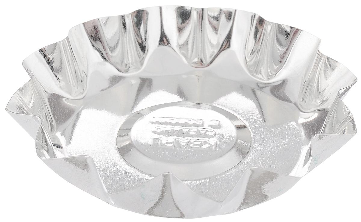 Форма для выпечки Кварц, диаметр 9,7 смКФ-04.000Форма Кварц, выполненная из белой жести, предназначена для выпечки и приготовления желе. Стенки изделия рельефные. С формой Кварц вы всегда сможете порадовать своих близких оригинальной выпечкой. Размер формы (по верхнему краю): 9,7 х 9,7 см. Высота формы: 2 см.