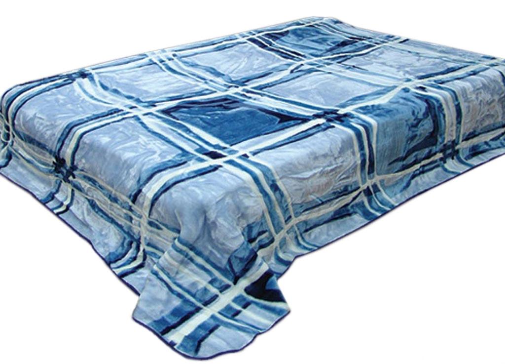 Плед Toledo, стриженый, цвет: синий, 200 х 240 см. 5984559845плотность 645 гр/м2
