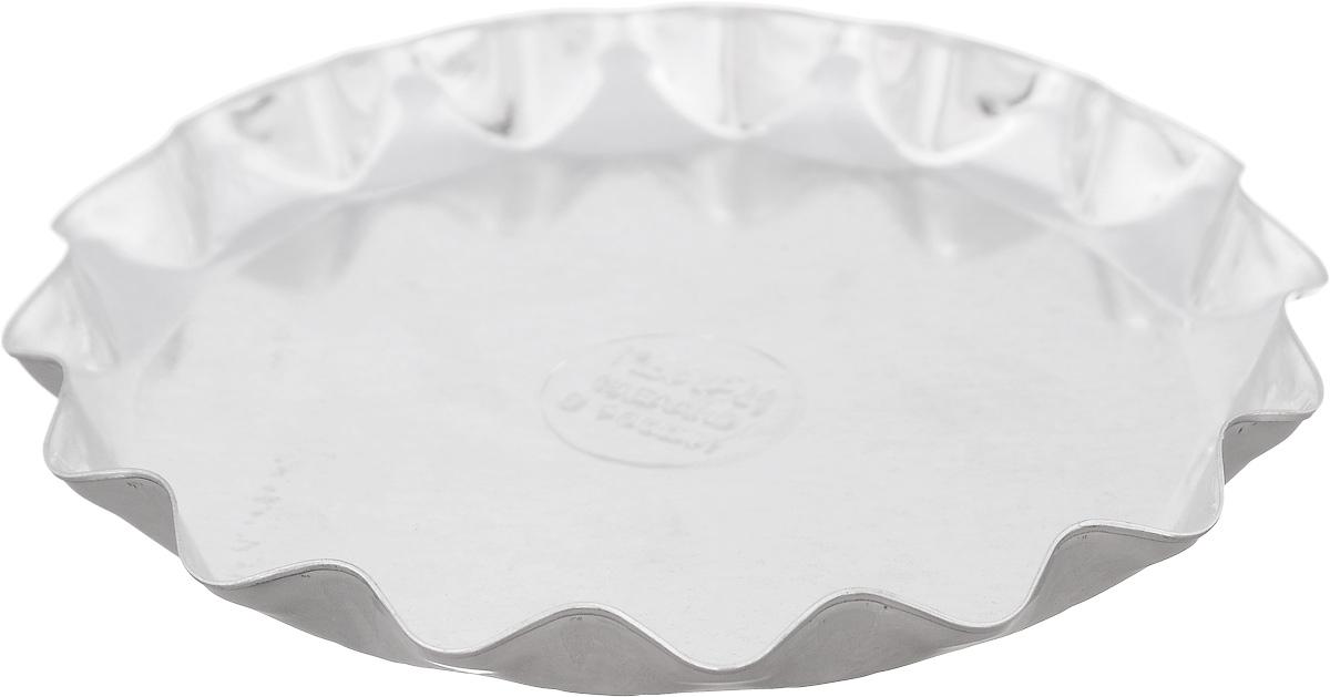 Форма для выпечки Кварц, диаметр 13,5 смКФ-10.000Форма Кварц, выполненная из белой жести, предназначена для выпечки и приготовления желе. Стенки изделия рельефные. С формой Кварц вы всегда сможете порадовать своих близких оригинальной выпечкой. Размер формы (по верхнему краю): 13,5 х 13,5 см. Высота формы: 1,5 см.