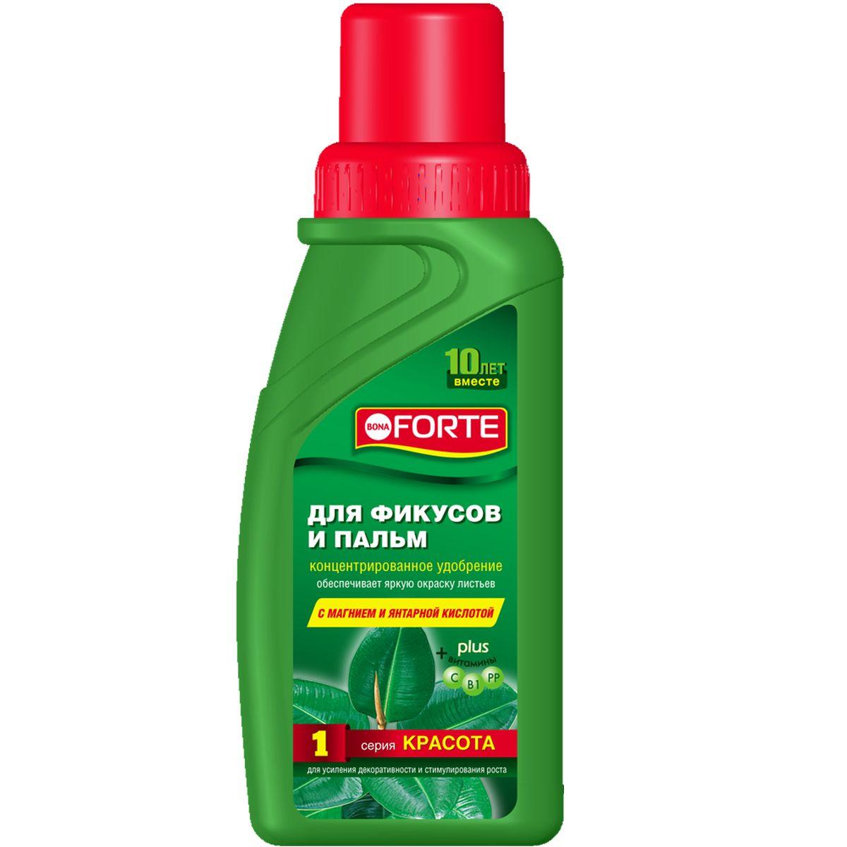 Жидкое комплексное удобрение Bona Forte, 285 мл (серия КРАСОТА)BF-21-01-022-1Специальный состав удобрений придает сочную зелень листьям, стимулирует рост побегов и защищает иммунитет.
