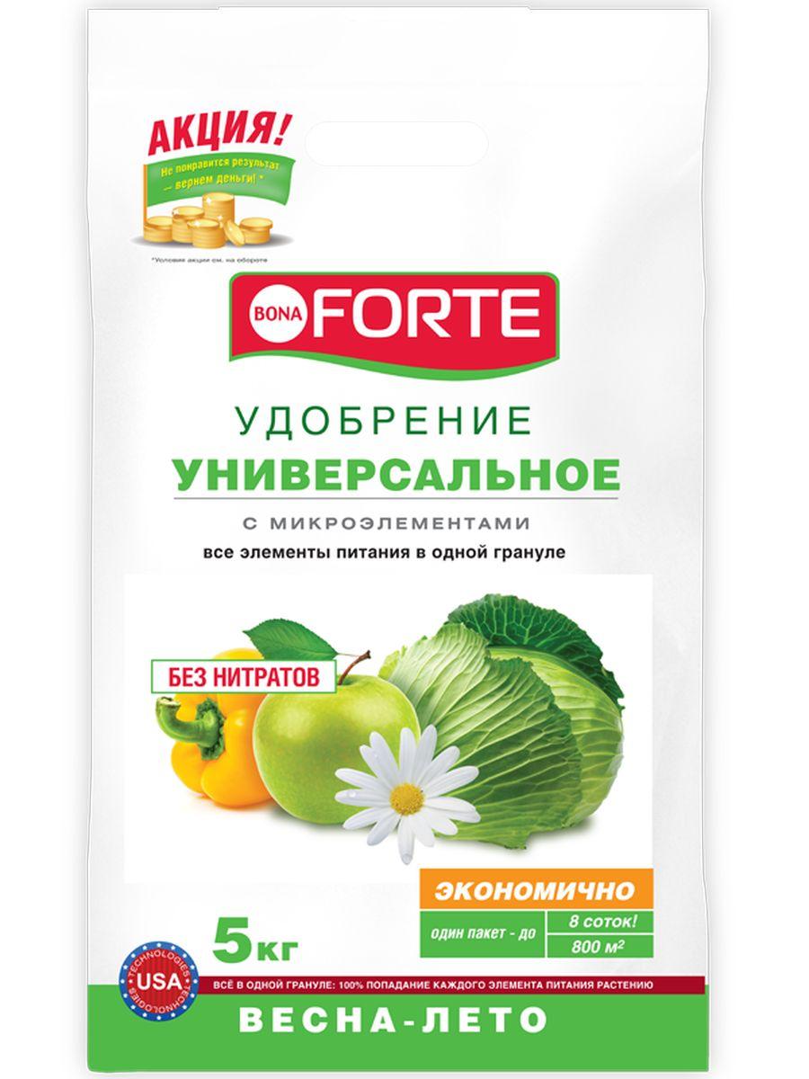 Удобрение комплексное гранулированное Bona Forte, универсальное марка NPK 15-15-15 с микроэлементами, 5 кгBF-23-01-014-1Все элементы в одной грануле, равномерное внесение удобрения, безопасно - без нитратов, экономичное расходование , отличный результат.