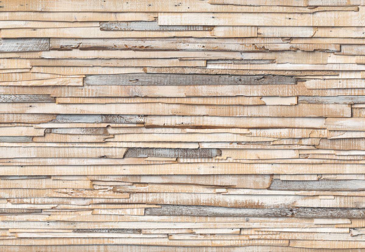 Фотообои Komar Выгоревшее на солнце дерево, 3,68 х 2,54 мU210DFБумажные фотообои известного бренда Komar позволят создать неповторимый облик помещения, в котором они размещены. Фотообои наносятся на стены тем же способом, что и обычные обои. Благодаря превосходной печати и высококачественной основе такие обои будут радовать вас долгое время. Фотообои снова вошли в нашу жизнь, став модным направлением декорирования интерьера. Выбрав правильную фактуру и сюжет изображения можно добиться невероятного эффекта живого присутствия.Ширина рулона: 3,68 м.Высота полотна: 2,54 м. Клей в комплекте.
