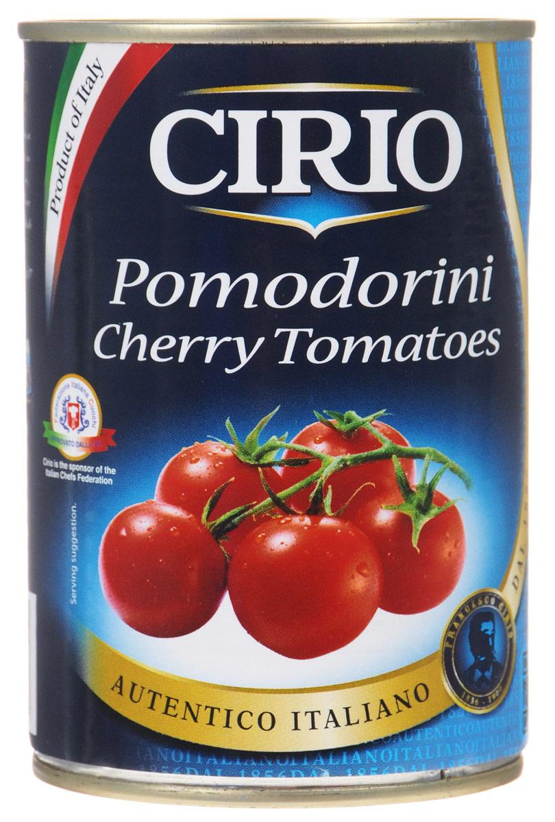 Cirio Cherry Tomatoes томаты черри в собственном соку, 400 г0470003/3Томаты черри Cirio Cherry Tomatoes в собственном соку.