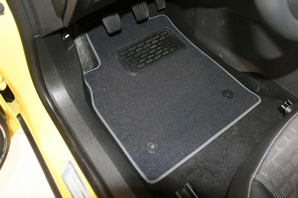 Набор автомобильных ковриков Novline-Autofamily для Opel Astra J GTC 2012-, хэтчбек, в салон, 5 штDFS-524Набор автомобильных ковриков Novline-Autofamily, изготовленный из текстиля, состоит из 5 ковриков, которые учитывают все особенности каждой модели автомобиля и полностью повторяют контуры пола. Текстильные автомобильные коврики для салона произведены из высококачественного материала, который держит форму, прочный и не пачкает обувь. Коврики в салон не только улучшат внешний вид салона вашего автомобиля, но и надежно уберегут его от пыли, грязи и сырости, а значит, защитят кузов от коррозии. Текстильные коврики для автомобиля мягкие и приятные, а их основа из вспененного полиуретана не пропускает влагу. Ковры для автомобилей надежно крепятся на полу и не скользят, что очень важно во время движения. Чистятся коврики очень просто: как при помощи автомобильного пылесоса, так и различными моющими средствами. Набор подходит для Opel Astra J GTC хэтчбек с 2012 года выпуска.