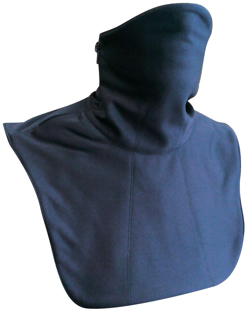 Ветрозащита шеи и груди Starks Collar Ws, цвет: черный. Размер L/XLЛЦ0033_LВетрозащита шеи и груди выполнена в два слоя: Снаружи-защита из Windstopper, что обеспечивает-полную защиту шеи и груди от дождя, ветра, холода и снега. Защитная дышащая мембрана работает в обе стороны -изнутри сохраняет тепло, выводит влагу, снаружи полная защита от неблагоприятных внешних факторов. Внутренняя часть-утепление из Fleece. Основная функция-дополнительное утепление, сохранение тепла, отведение влаги от лица к мембране, сохранение комфорта коже лица, терморегуляция. Модель предназначена для любых отрицательных температур и любой влажности. Молния позволяет легко одевать и снимать ветрозащиту, открывать лицо-когда это необходимо. Исключены возможные неудобства связанные с соприкосаниеммолнии к коже. Изнутри молния закрыта флисовойвставкой. Гипоалергенный, быстро сохнет, терморегуляция, антибактериальный, Комбинированный; Состав: 100% полиэстер, мембрана SoftShellс миркофлисом.