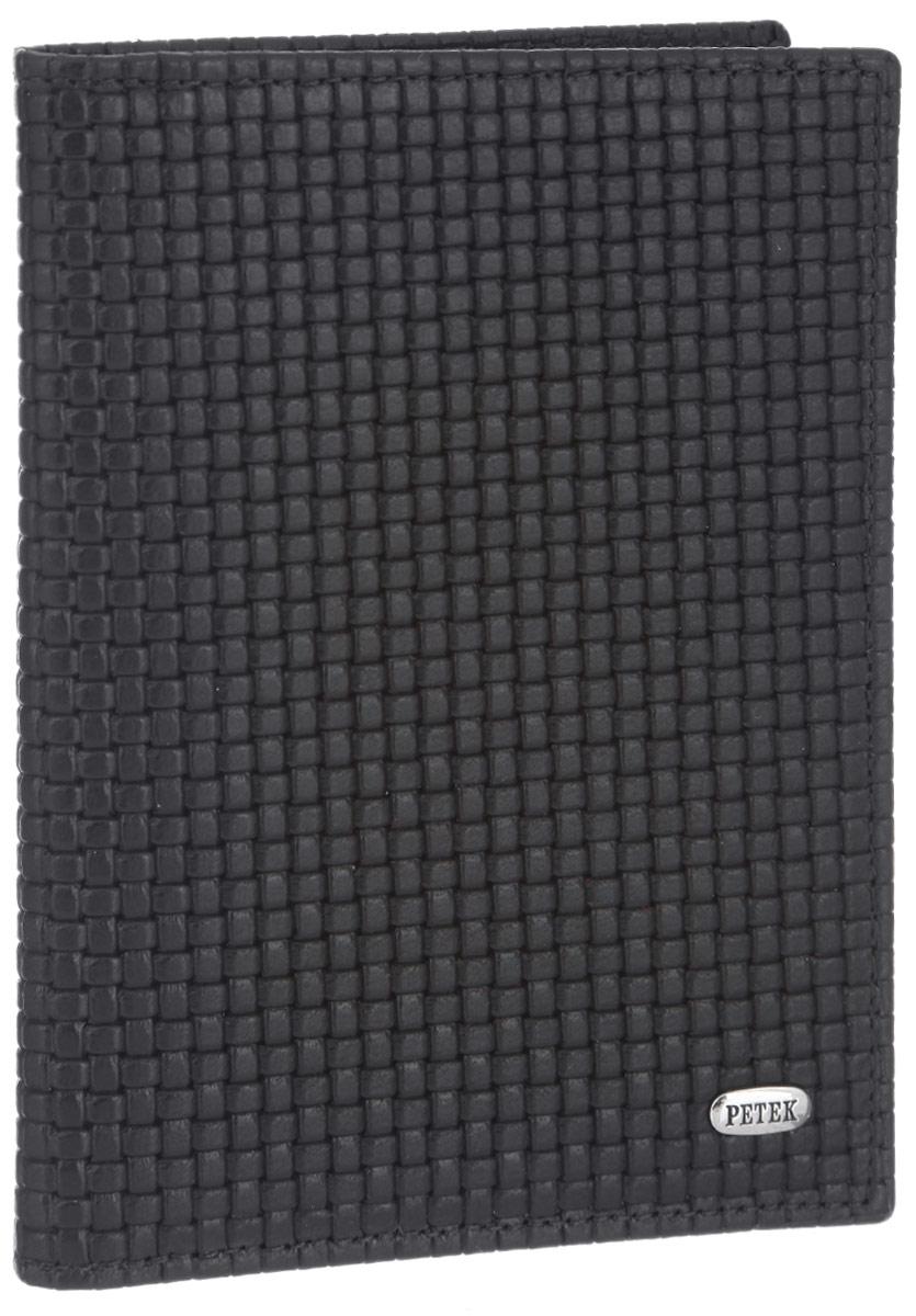 Обложка для автодокументов Petek 1855, цвет: темно-коричневый. 584.020.02A16-11154_711Обложка для автодокументов Petek 1855 выполнена из высококачественной натуральной кожи и оформлена декоративным тиснением под плетение. На внутреннем развороте - съемный блок из шести прозрачных файлов из мягкого пластика, один из которых формата А5, два боковых кармана, один из которых сетчатый, и четыре прорезных кармашка для визиток и пластиковых карт. Обложка не только поможет сохранить внешний вид ваших документов и защитит их от повреждений, но и станет стильным аксессуаром, который подчеркнет ваш неповторимый стиль.