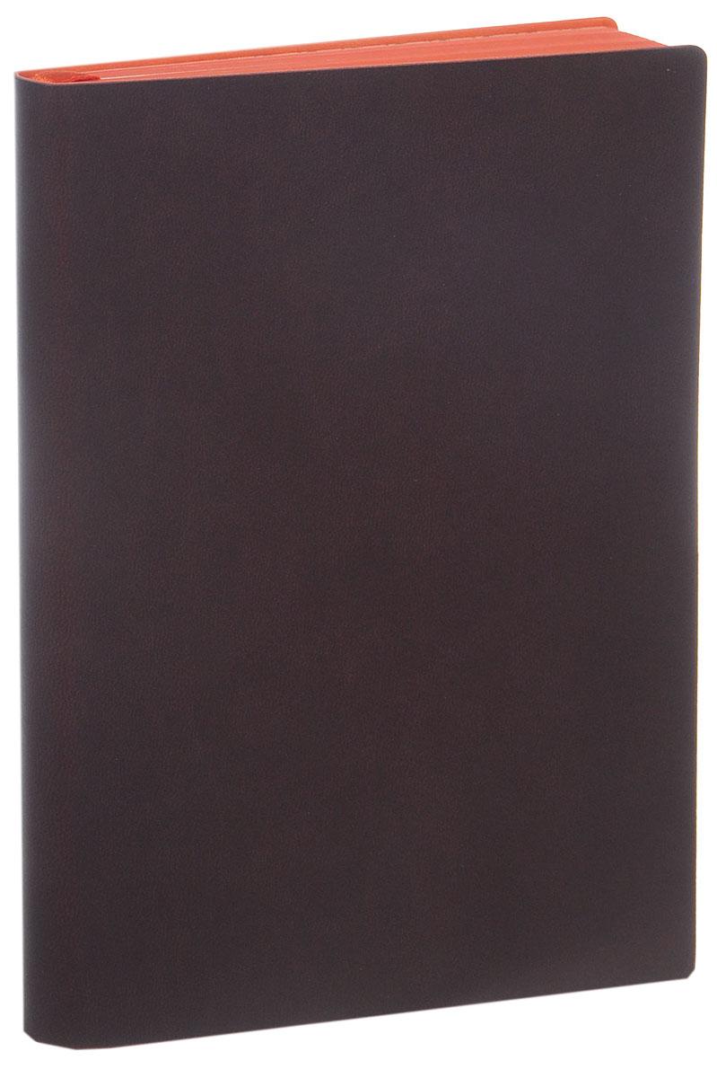 Index Ежедневник Colorplay недатированный 128 листов цвет коричневый724-SBНедатированный ежедневник Index Colorplay - это один из удобных способов систематизации всех предстоящих событий и незаменимый помощник для каждого. Обложка выполнена из высококачественной искусственной кожи с тиснением. Внутренний блок на 256 страниц выполнен из состаренной офсетной бумаги с красным обрезом. Ежедневник содержит страницу для заполнения личных данных, календарь с 2016 по 2017 год, а также ляссе с металлической пряжкой для быстрого поиска нужной страницы. Все планы и записи всегда будут у вас перед глазами, что позволит легко ориентироваться в графике дел, событий и встреч.