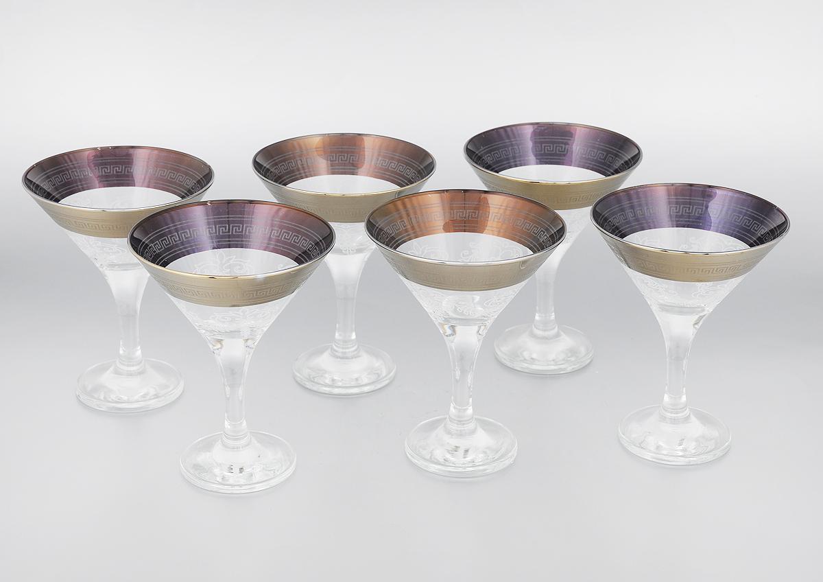 Набор бокалов для мартини Мусатов Гармония, 170 мл, 6 шт410/02Набор Мусатов Гармония состоит из 6 бокалов, изготовленных из высококачественного стекла. Изделия оформлены оригинальной окантовкой и предназначены для подачи мартини. Такой набор прекрасно дополнит праздничный стол и станет желанным подарком в любом доме. Разрешается мыть в посудомоечной машине. Диаметр бокала (по верхнему краю): 11 см. Высота бокала: 13,7 см. Диаметр основания бокала: 6,5 см.