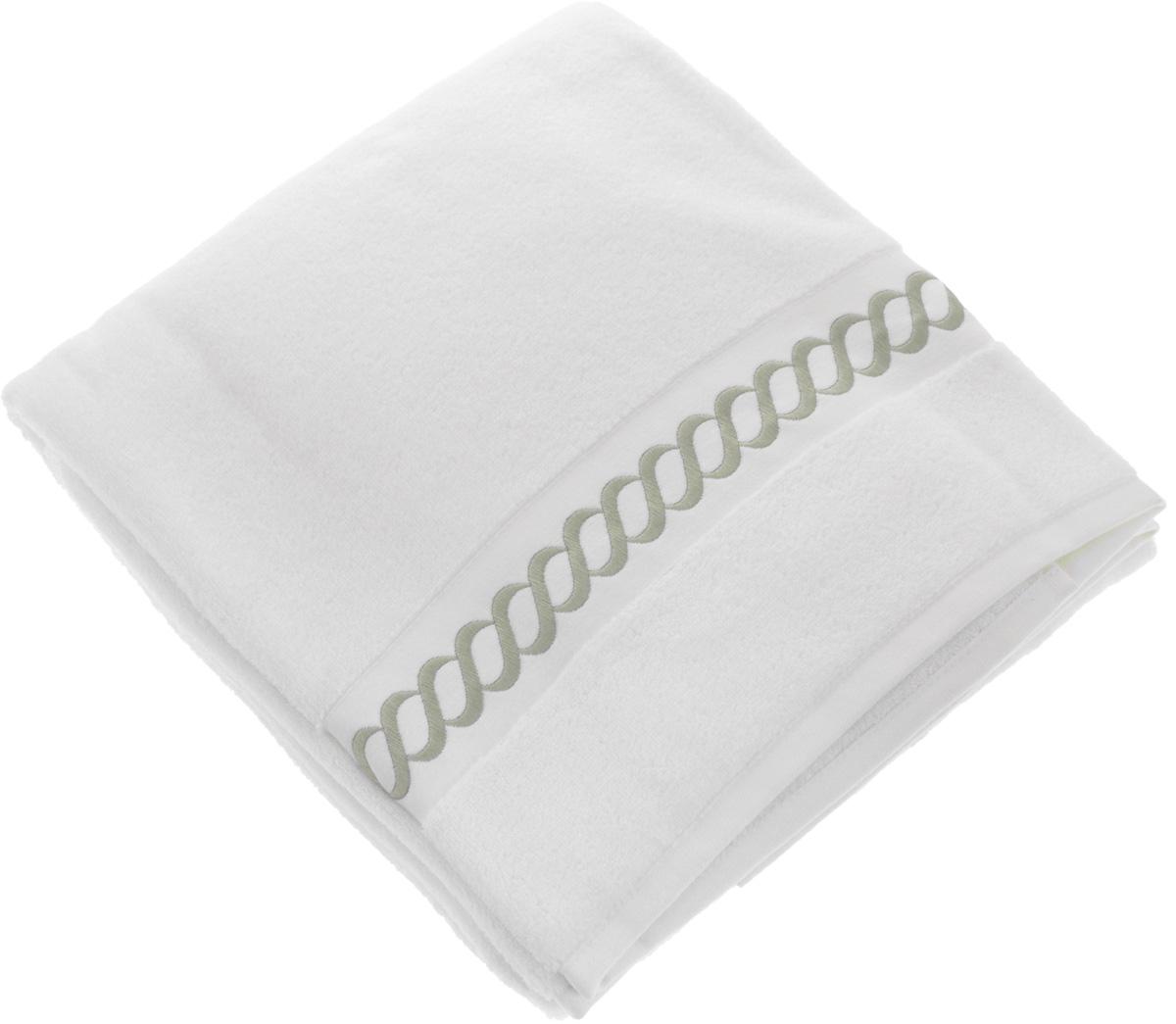 Полотенце махровое Issimo Home Pauline, цвет: белый, бежевый, 90 x 150 см68/5/3Полотенце Issimo Home Pauline выполнено из натуральной махровой ткани (100% хлопок). Изделие отлично впитывает влагу, быстро сохнет и не теряет форму даже после многократных стирок. Рекомендации по уходу:- режим стирки при 40°C,- допускается обычная химчистка,- отбеливание запрещено,- глажка при температуре подошвы утюга до 110°С,- барабанный отжим запрещен.Размер полотенца: 90 x 150 см.