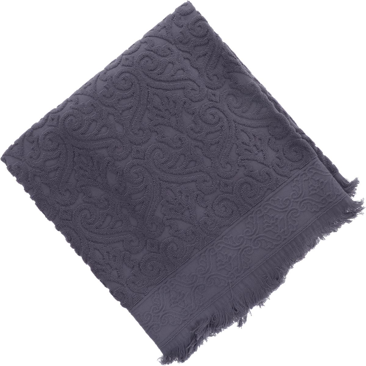 Полотенце махровое Issimo Home Tarren, цвет: индиго, 90 x 150 см4961Полотенце Issimo Home Tarren выполнено из 100% хлопка с махровым рельефным узором. Изделие отлично впитывает влагу, быстро сохнет и не теряет форму даже после многократных стирок. Рекомендации по уходу: - режим стирки при 40°C, - допускается обычная химчистка, - отбеливание запрещено, - глажка при температуре подошвы утюга до 110°С, - барабанный отжим запрещен. Размер полотенца: 90 х 150 см.