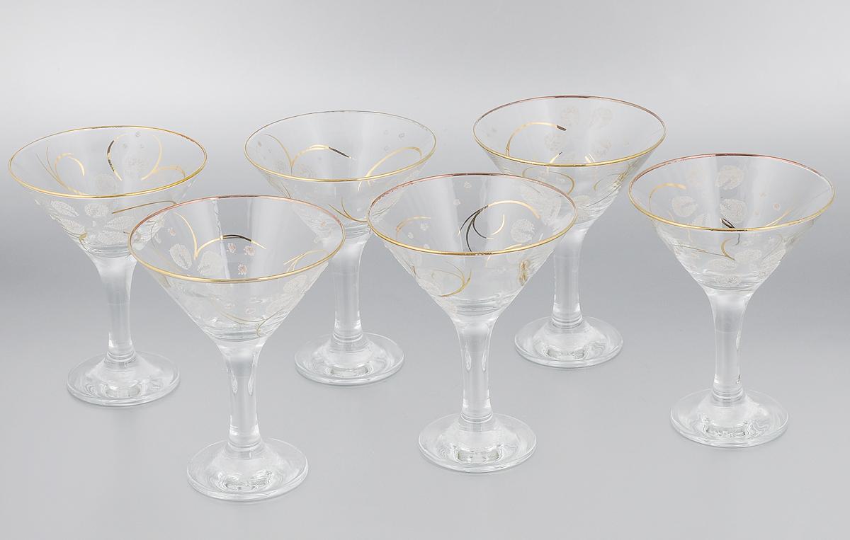 Набор бокалов для мартини Гусь-Хрустальный Клематис, 170 мл, 6 шт13-410кНабор Гусь-Хрустальный Клематис состоит из 6 бокалов, изготовленных из высококачественного стекла. Изделия предназначены для подачи мартини. Такой набор прекрасно дополнит праздничный стол и станет желанным подарком в любом доме. Разрешается мыть в посудомоечной машине. Диаметр бокала (по верхнему краю): 11 см. Высота бокала: 13,7 см. Диаметр основания бокала: 6,5 см. Уважаемые клиенты! Обращаем ваше внимание на незначительные изменения в дизайне товара, допускаемые производителем. Поставка осуществляется в зависимости от наличия на складе.