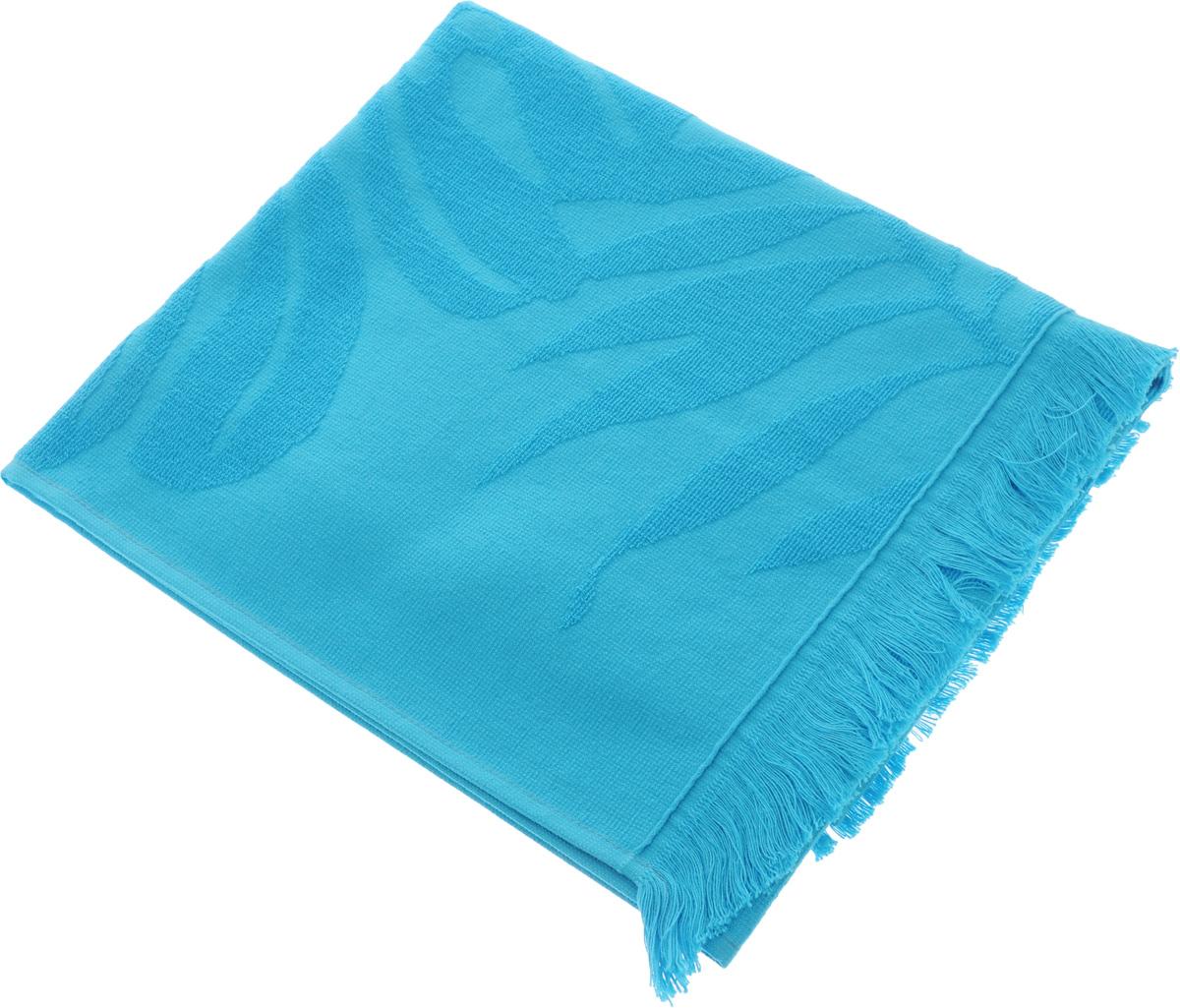 Полотенце Issimo Home Nadia, цвет: бирюзовый, 50 x 90 см4986Полотенце Issimo Home Nadia выполнено из 100% хлопка. Изделие отлично впитывает влагу, быстро сохнет, сохраняет яркость цвета и не теряет форму даже после многократных стирок. Полотенце очень практично и неприхотливо в уходе. Оно прекрасно дополнит интерьер ванной комнаты.