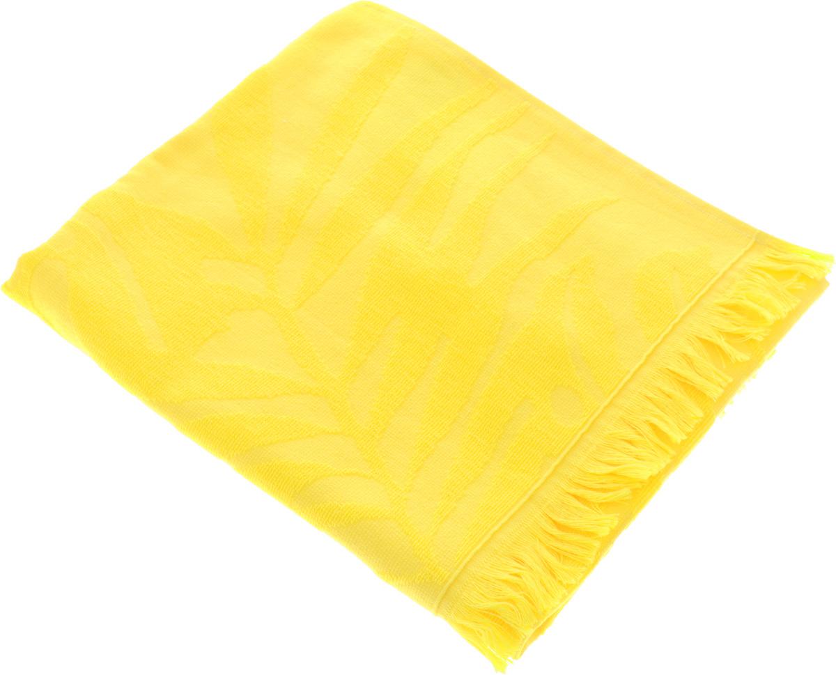 Полотенце Issimo Home Nadia, цвет: желтый, 50 x 90 см4995Полотенце Issimo Home Nadia выполнено из 100% хлопка. Изделие отлично впитывает влагу, быстро сохнет, сохраняет яркость цвета и не теряет форму даже после многократных стирок. Полотенце очень практично и неприхотливо в уходе. Оно прекрасно дополнит интерьер ванной комнаты.