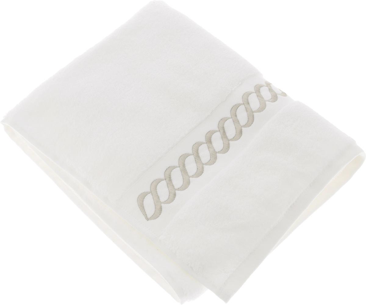 Полотенце махровое Issimo Home Pauline, цвет: белый, бежевый, 50 x 90 см4745Полотенце Issimo Home Pauline выполнено из натуральной махровой ткани (100% хлопок). Изделие отлично впитывает влагу, быстро сохнет и не теряет форму даже после многократных стирок. Рекомендации по уходу: - режим стирки при 40°C, - допускается обычная химчистка, - отбеливание запрещено, - глажка при температуре подошвы утюга до 110°С, - барабанный отжим запрещен. Размер полотенца: 50 x 90 см.