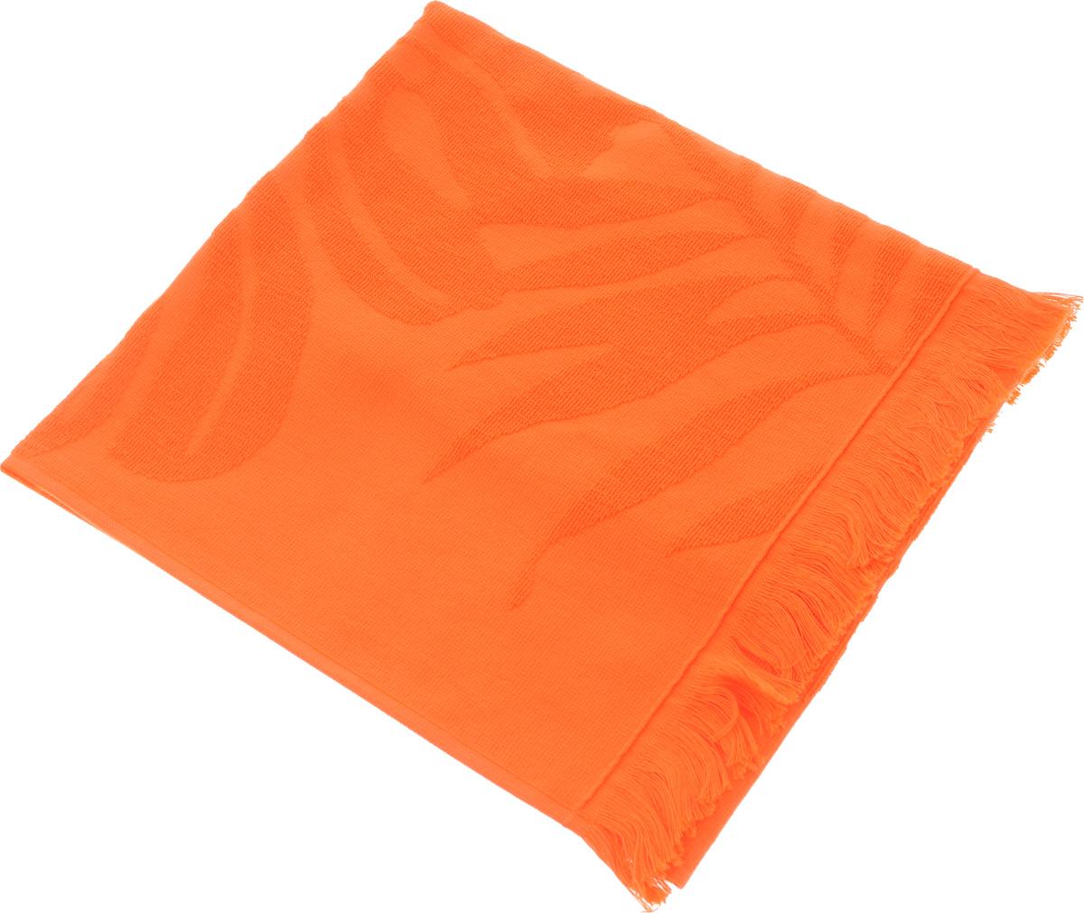 Полотенце Issimo Home Nadia, цвет: оранжевый, 70 x 140 см68/5/2Полотенце Issimo Home Nadia выполнено из 100% хлопка. Изделие отлично впитывает влагу, быстро сохнет, сохраняет яркость цвета и не теряет форму даже после многократных стирок. Полотенце очень практично и неприхотливо в уходе. Оно прекрасно дополнит интерьер ванной комнаты.