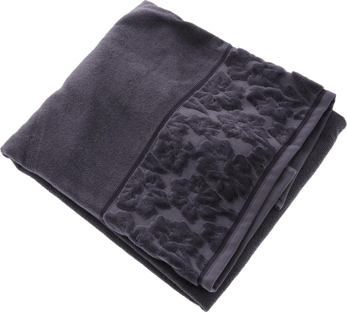 Полотенце махровое Issimo Home Jacquelyn, цвет: индиго, 90 x 150 см68/5/3Махровое полотенце Issimo Home Jacquelyn выполнено из 100% хлопка. Изделие отлично впитывает влагу, быстро сохнет, сохраняет яркость цвета и не теряет форму даже после многократных стирок. Полотенце очень практично и неприхотливо в уходе. Оно прекрасно дополнит интерьер ванной комнаты.