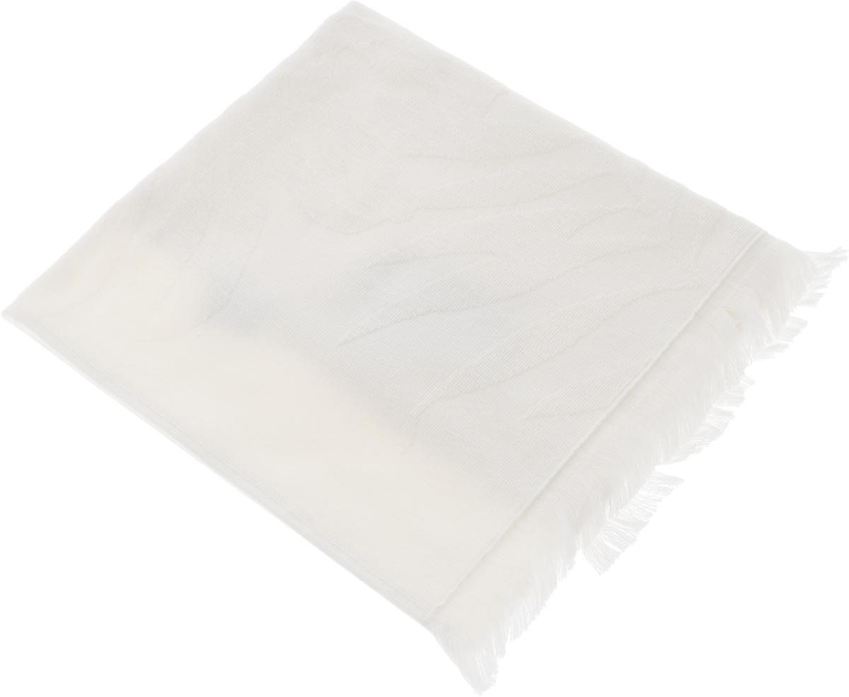 Полотенце Issimo Home Nadia, цвет: экрю, 90 x 180 см4991Полотенце Issimo Home Nadia выполнено из 100% хлопка. Изделие отлично впитывает влагу, быстро сохнет, сохраняет яркость цвета и не теряет форму даже после многократных стирок. Полотенце очень практично и неприхотливо в уходе. Оно прекрасно дополнит интерьер ванной комнаты.
