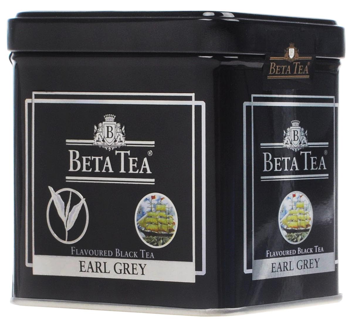 Beta Tea Earl Grey черный листовой чай, 100 г (жестяная банка)0120710Создатель этого чая - английский дипломат Чарльз Грей, который первым придумал его оригинальную рецептуру. Будучи в Китае, он смешал чай из районов Дарджелинг Кемун с бергамотом и получил новый неповторимый аромат. С тех пор этот напиток носит его имя и пользуется большой популярностью во всем мире.